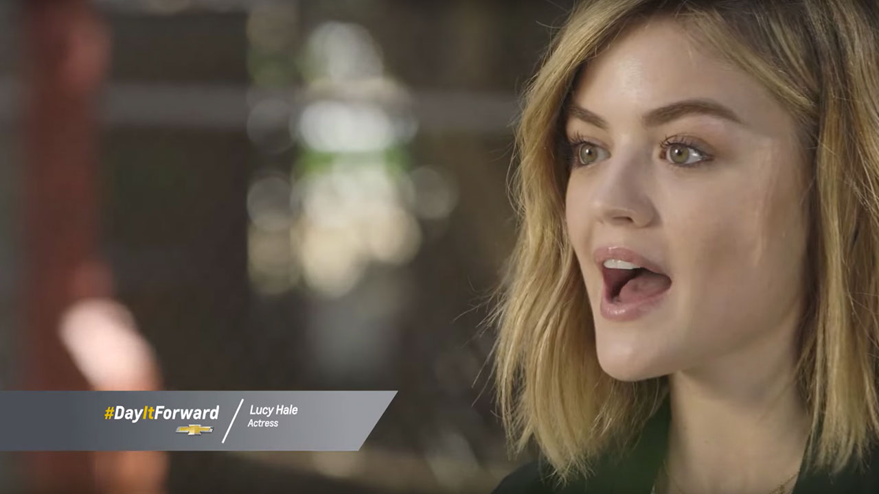 Lucy Hale's Wild Day