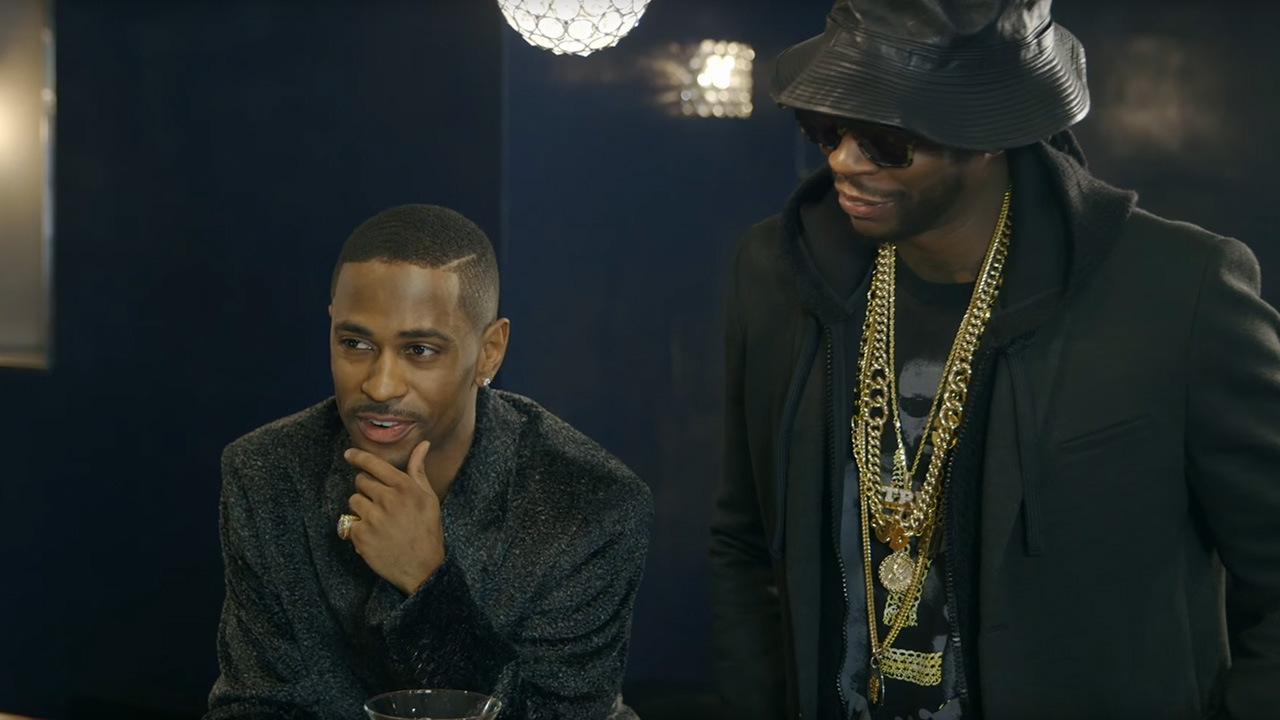 Big Sean & 2 Chainz Drink Diamond-Infused Vodka