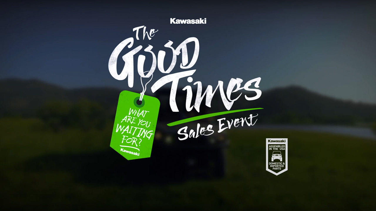 2017 Kawasaki Good Times Sales Event | Do It 4-Wheel