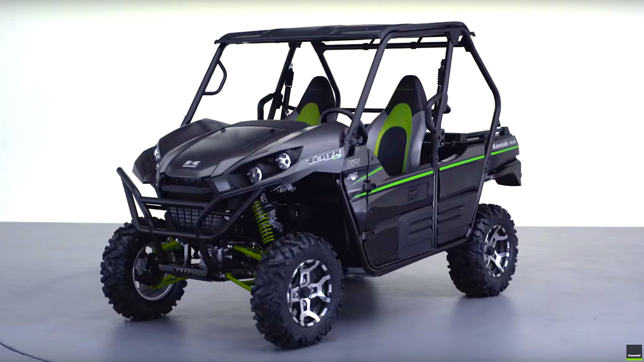 2017 Kawasaki Teryx Family | Features & Accessories