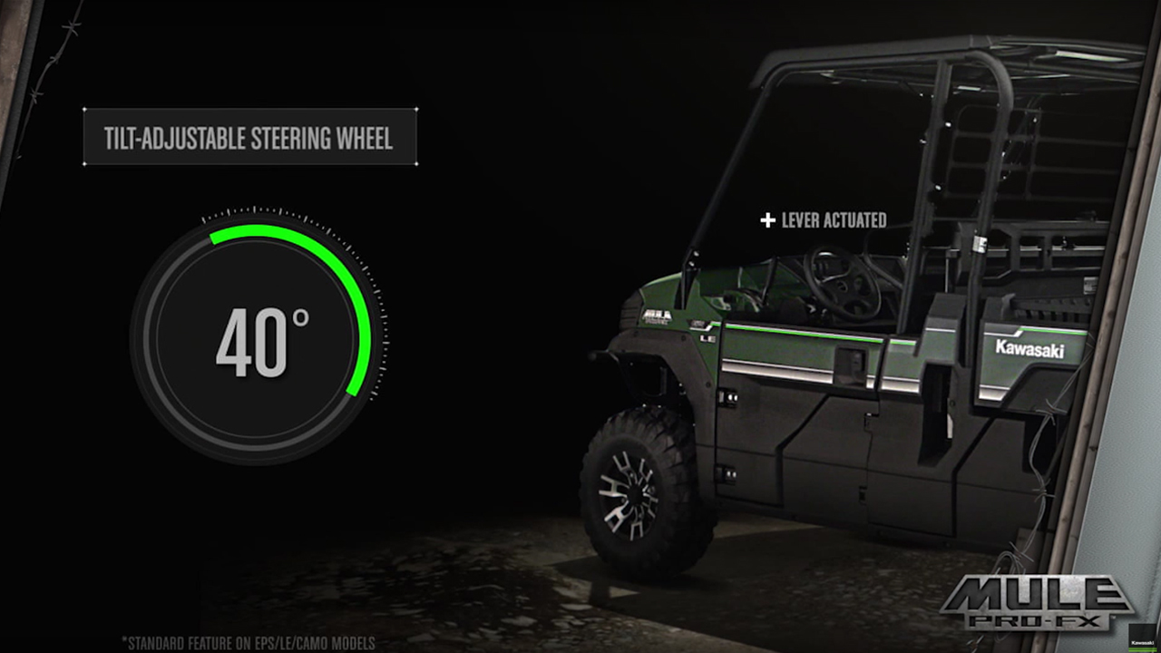 2016 Mule PRO-FX™ Electric Power Steering (EPS)